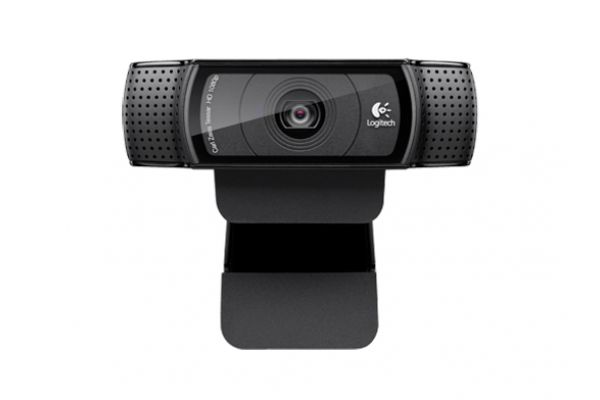 Large image of Logitech Black HD Pro C920 Webcam - 960000764