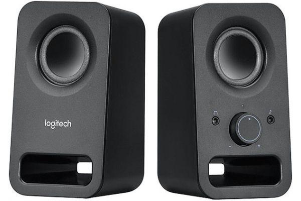 Large image of Logitech Black Z150 Stereo Speakers - 980000802