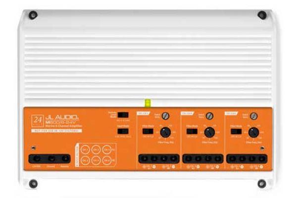 Large image of JL Audio 6 Ch. Class D Full-Range Marine Amplifier - 98625