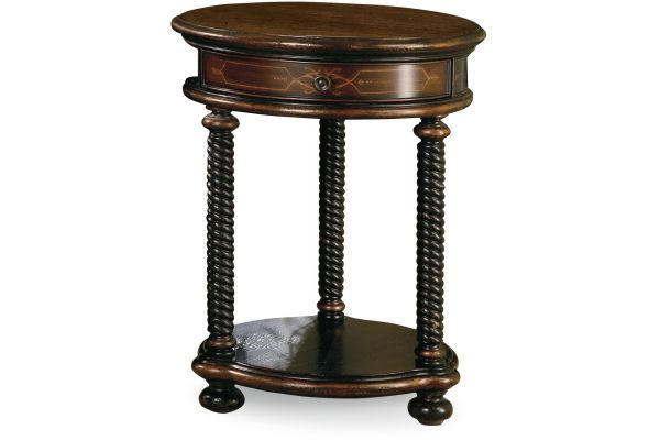 Hooker Furniture Living Room Westcott Round Accent Table - 989-50-104
