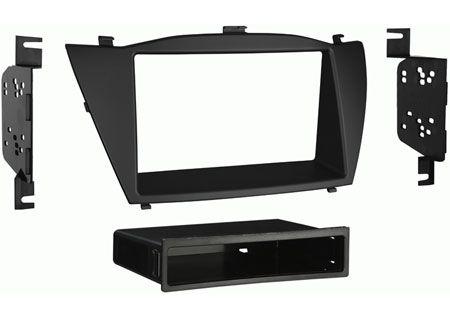 Metra Black Hyundai Tucson Stereo Install Kit - 99-7341B