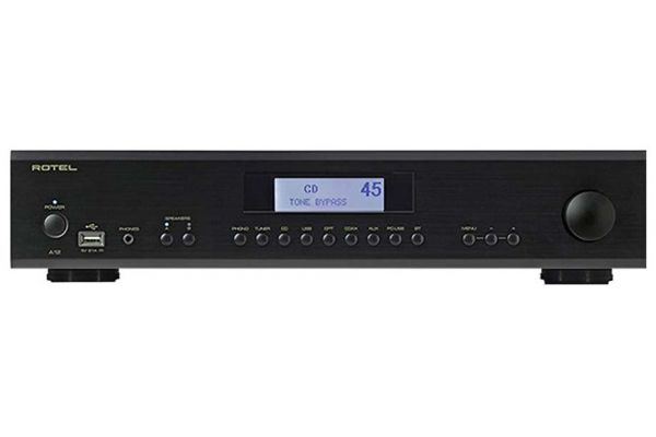 Rotel A12 Black Integrated Amplifier - FR51242
