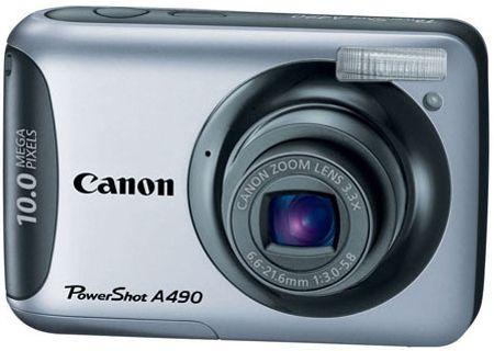 Canon - A490 - Digital Cameras
