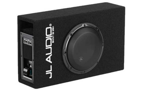 Large image of JL Audio Single 8W3v3 MicroSub+ Subwoofer System - 93330