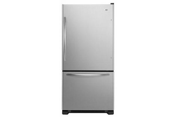 Amana Stainless Steel Bottom Freezer Refrigerator - ABB1924BRM