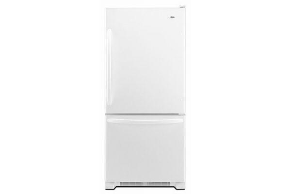 Amana White Bottom Freezer Refrigerator - ABB2224BRW