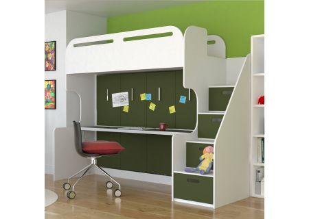 Leto Muro - ABNER10-WH-OL - Bed Sets & Frames