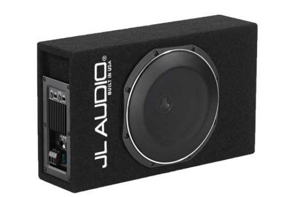 Large image of JL Audio Single 10TW PowerWedge Subwoofer System - 93334
