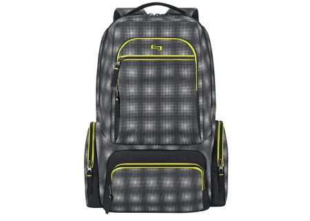 "Solo Surge Active Collection Grey/Green 15.6"" Backpack - ACV750-7"