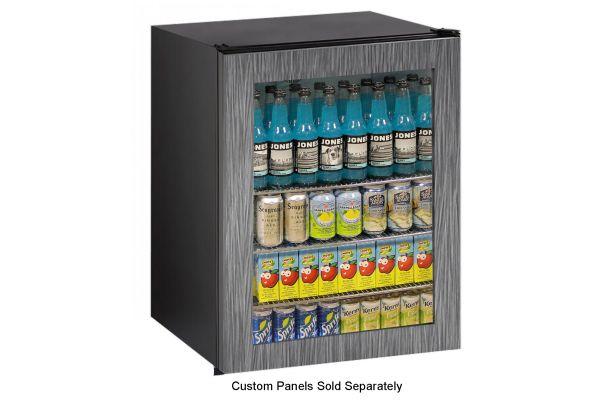 "Large image of U-Line 24"" Panel Ready Frame ADA Compact Refrigerator - U-ADA24RGLINT-00A"