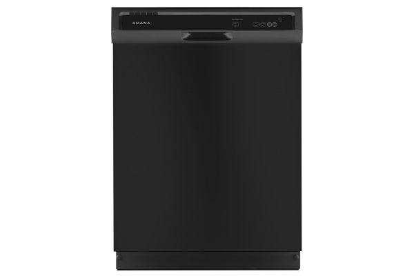 "Amana 24"" Built-In Black Dishwasher  - ADB1400AGB"