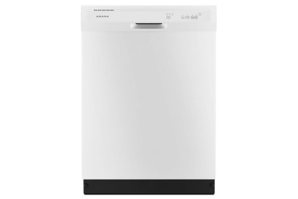 "Amana 24"" Built-In White Dishwasher - ADB1400AGW"