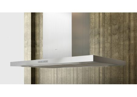 """Zephyr Arc Collection 36"""" Duo  Stainless Steel  Island Hood  - ADLM90BSX"""