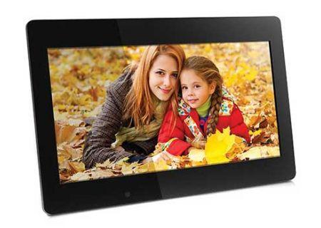 """Aluratek 18.5"""" 4GB Black Digital Photo Frame - ADMPF118F"""