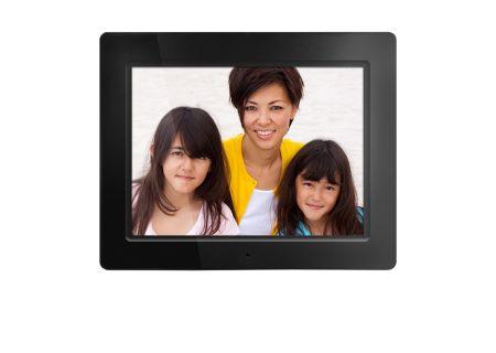 "Aluratek 12"" Widescreen Black Digital Photo Frame - ADMPF512F"