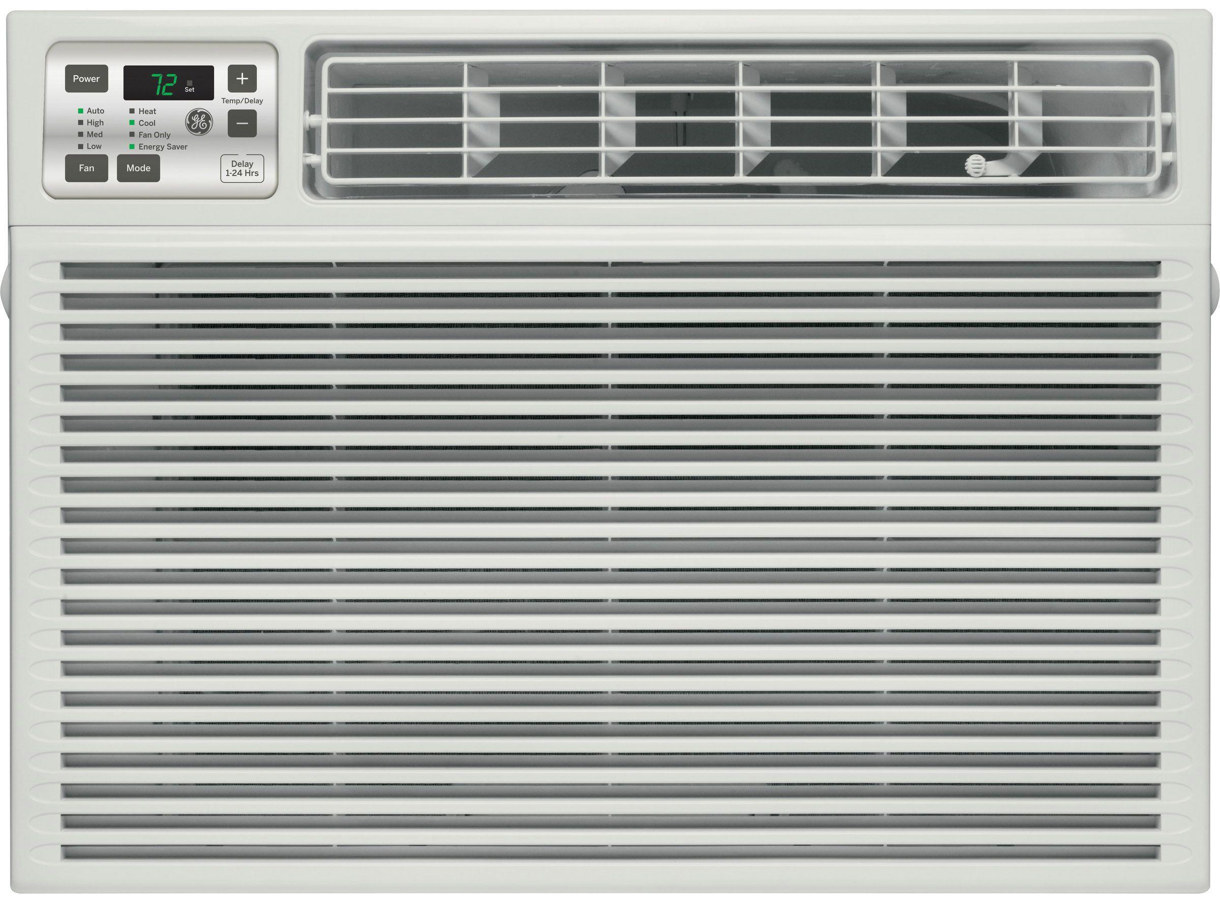 Ge 11 800 btu 11 0 eer window air conditioner aee12dt for 12 wide window air conditioner