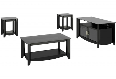 Bush - AER006BK - TV Stands & Entertainment Centers