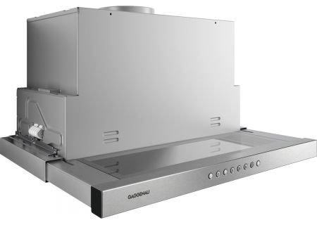 """Gaggenau 200 Series 24"""" Stainless Steel Visor Hood  - AF210761"""