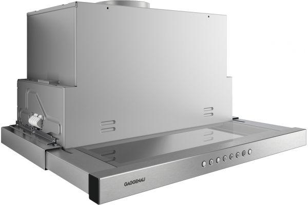"""Large image of Gaggenau 200 Series 24"""" Stainless Steel Visor Hood  - AF210761"""