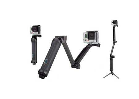 GoPro 3-Way Camera Mount - AFAEM-001