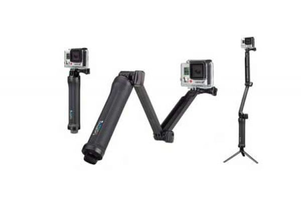 Large image of GoPro 3-Way Camera Mount - AFAEM-001