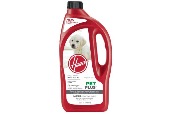Hoover 2X PetPlus Pet Stain & Odor Remover - AH30325NF