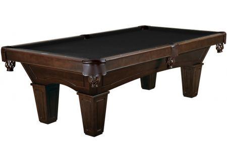 Brunswick Ainslie 8 Ft. Espresso And Ebony Billiard Table Package  - AIN8-ES-TP-SD-EB