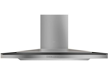 "Zephyr Arc Layers Collection 42"" Black Glass Wall Mount Chimney Range Hood - ALA-E42BBX"