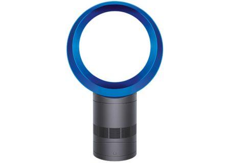 """Dyson AM06 Iron/Blue 10"""" Desk Fan - 300873-01"""