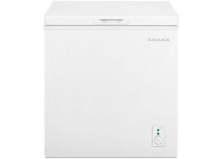 Amana 5.3 Cu. Ft. White Compact Chest Freezer - AQC0501GRW