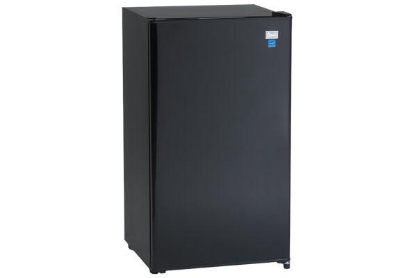 Large image of Avanti 3.2 Cu. Ft. Black Counterhigh All Refrigerator - AR321BB