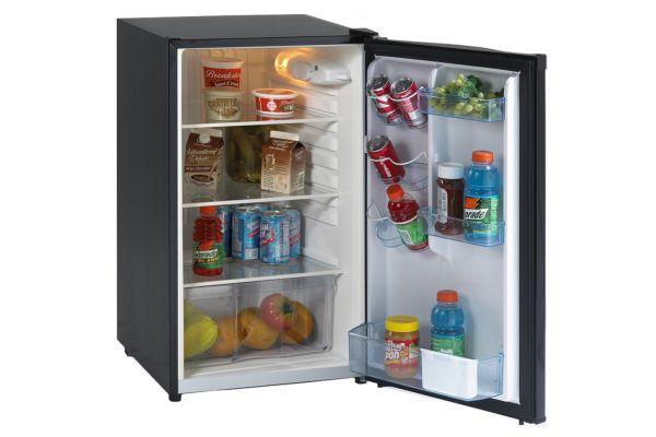 Large image of Avanti 4.4 Cu. Ft. Black Counterhigh Refrigerator - AR4446B