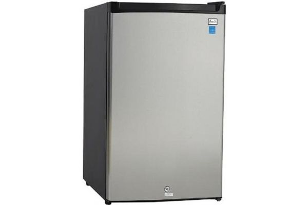 Large image of Avanti 4.5 Cu. Ft. Stainless Steel Compact Refrigerator - AR4456SS
