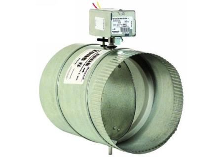 """Honeywell 6"""" Round Automatic Damper  - ARD6"""