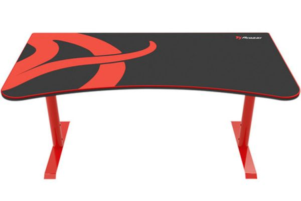 Arozzi Red Arena Gaming Desk - ARENA-NA-RED