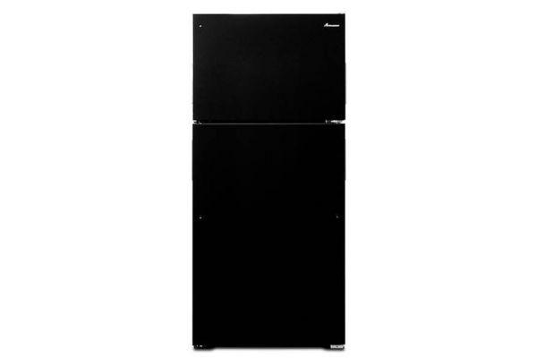 Large image of Amana Black Top-Freezer Refrigerator - ART104TFDB