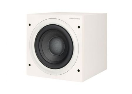 """Bowers & Wilkins ASW608 8"""" Matte White Subwoofer - ASW608WH"""