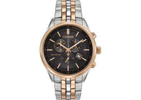 Citizen Eco-Drive Sapphire Collection Two Tone Mens Watch - AT2146-59E