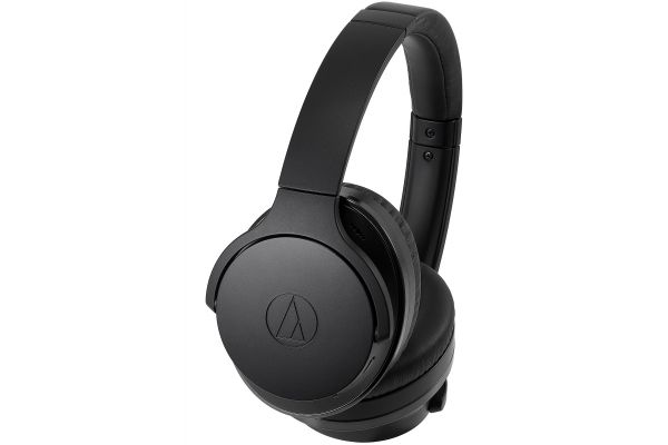 Audio-Technica Black QuietPoint Wireless Active Noise-Cancelling Headphones - ATH-ANC900BT