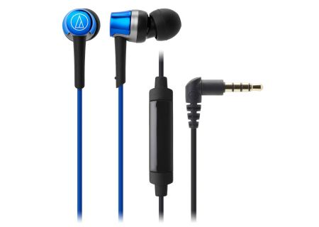 Audio-Technica - ATHCKR30ISBL - Earbuds & In-Ear Headphones