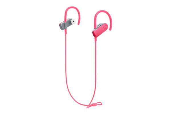 Audio-Technica Pink Sonic Sport Wireless In-Ear Headphones - ATH-SPORT50BTPK