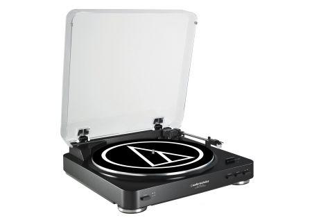 Audio-Technica - AT-LP60BK-USB - Turntables