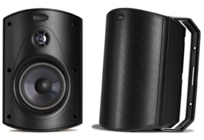 Polk Audio - ATRIUM6 BLACK - Outdoor Speakers