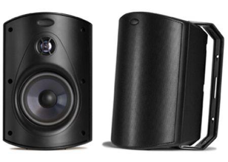 Polk Audio - ATRIUM6 BLACK - Outdoor Speakers