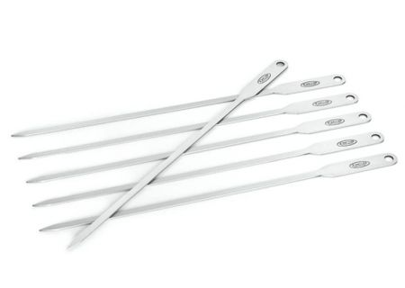 DCS Essentials Brushed Stainless Steel Skewer Set - ATS-SK6