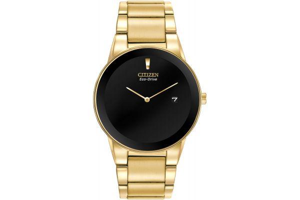 Citizen Eco-Drive Axiom Gold Tone Mens Watch - AU1062-56E