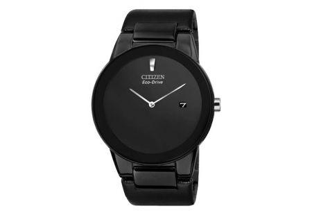 Citizen Eco-Drive Black Stainless Steel Men - AU106507E