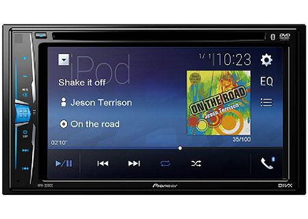 Pioneer Multimedia Bluetooth DVD Receiver - AVH-200EX