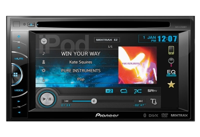 Pioneer - AVH-X2500BT - Car Stereos - Double DIN