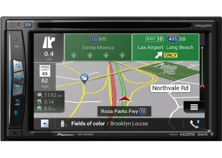 "Pioneer 6.2"" In-Dash Navigation AV Receiver - AVIC-W6400NEX"
